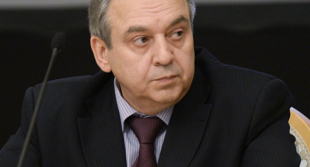 Stały przedstawiciel Krymu przy prezydencie Rosji Georgij Muradow