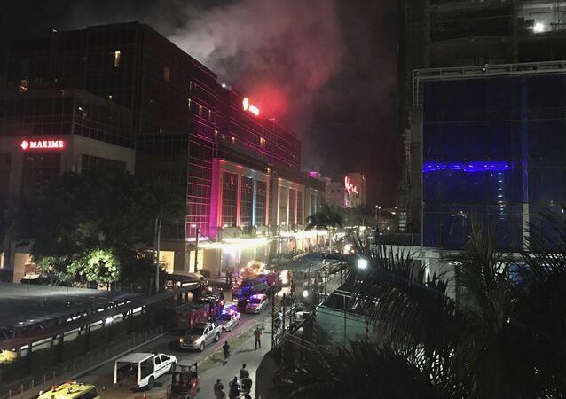 Atak na hotel w Manili