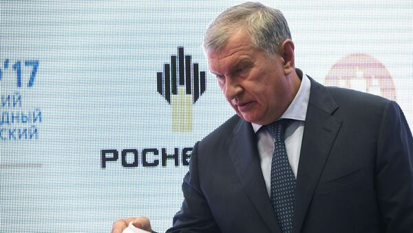 Szef Rosnieftu Igor Sieczin - Sputnik Polska
