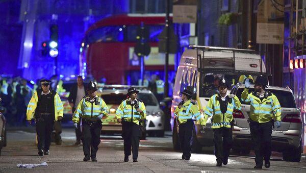 Londyńska policja na Borough High Street - Sputnik Polska