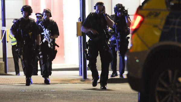 Policja na miejscu zamachu w Londynie - Sputnik Polska