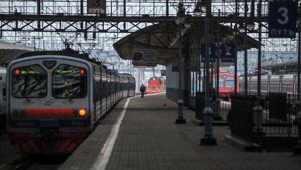 Dworzec Kijowski w Moskwie - Sputnik Polska