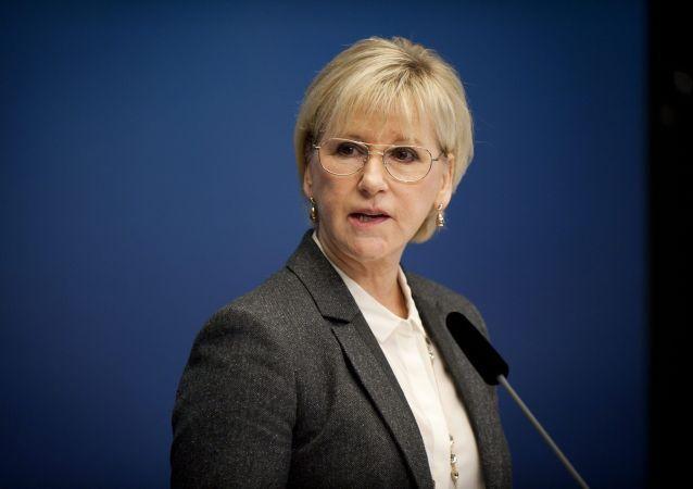 Szefowa MSZ Szwecji Margot Wallström