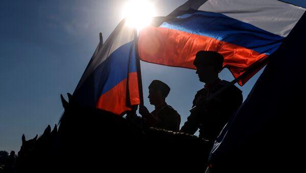 Flaga Rosji - Sputnik Polska