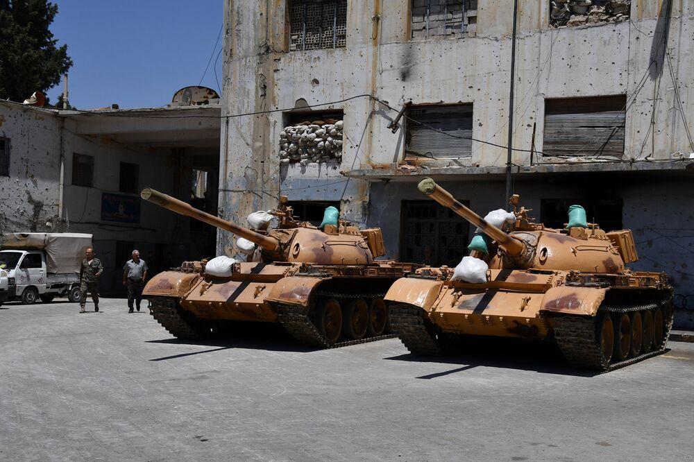 Drugie życie wojskowego sprzętu w Syrii