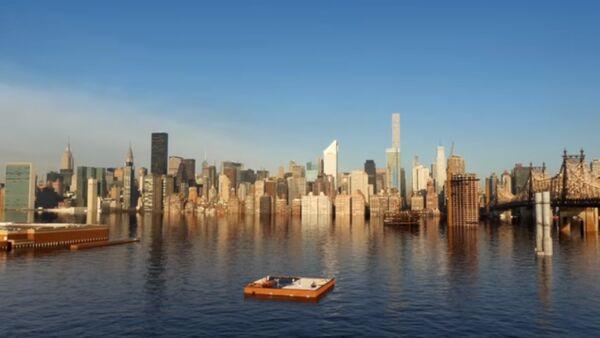 Nowy Jork zniknie pod wodą - Sputnik Polska