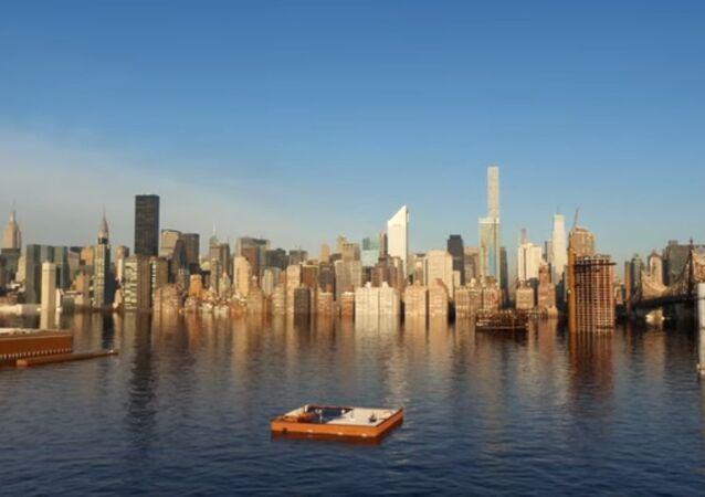 Nowy Jork zniknie pod wodą