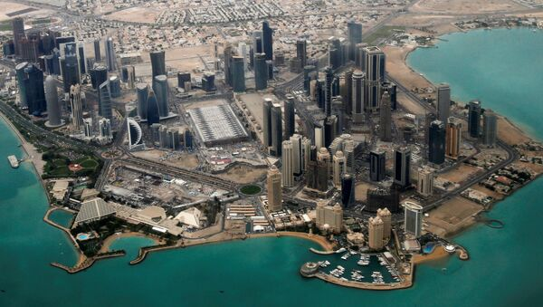 Widok na Dohę, stolicę Kataru - Sputnik Polska