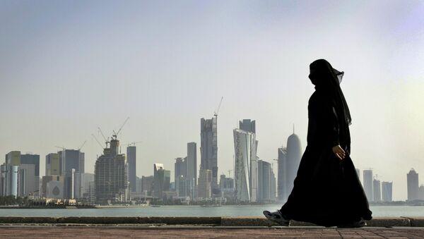 Kobieta w Katarze - Sputnik Polska