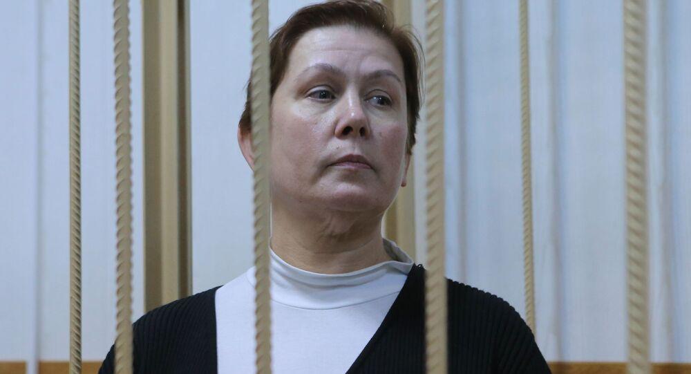 Była dyrektor Biblioteki Ukraińskiej Literatury Natalia Szarina w moskiewskim sądzie