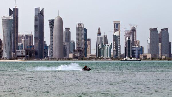 Widok na stolicę Kataru - miasto Doha - Sputnik Polska