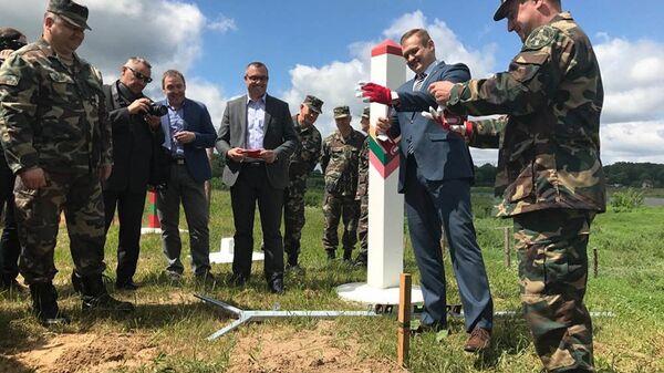 Rozpoczęcie budowy ogrodzenia na granicy Litwy i Rosji - Sputnik Polska
