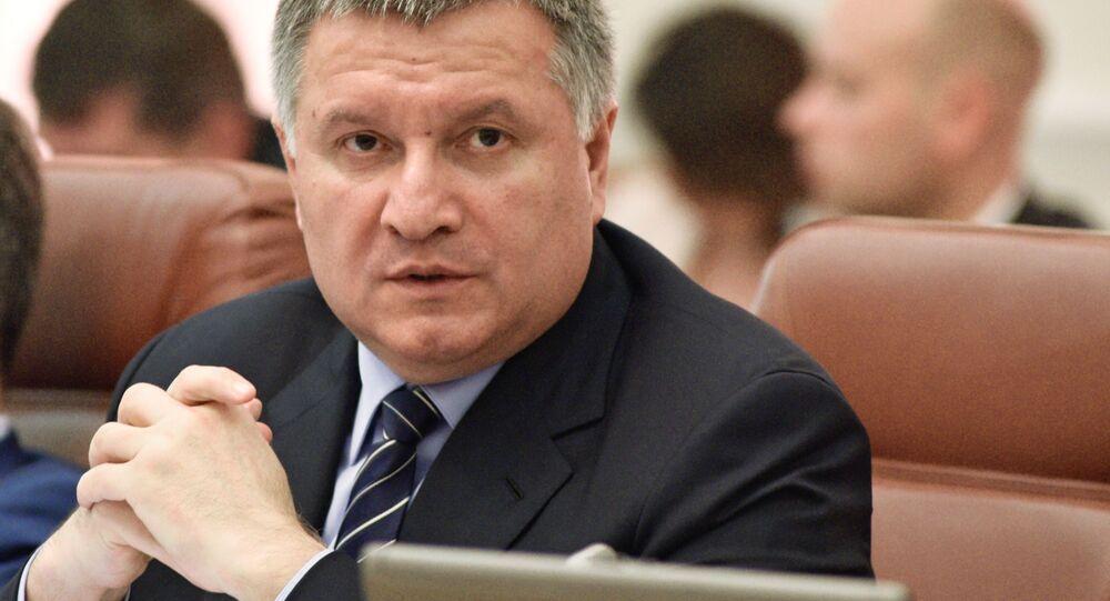 Minister spraw wewnętrznych Ukrainy Arsen Awakow