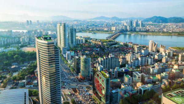 Widok na miasto Seul - Sputnik Polska