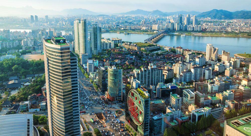 Widok na miasto Seul