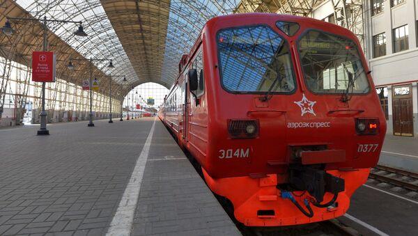 Aeroekspress, Dworzec Kijowski w Moskwie - Sputnik Polska