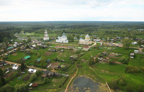 W tym roku z Kirowa wyszło 28 tysięcy pielgrzymów. W pochodzie wzięło udział 75 tysięcy osób. - Sputnik Polska