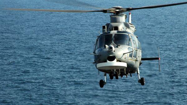 Francuski wielozadaniowy śmigłowiec szturmowy Eurocopter AS565 Panther - Sputnik Polska