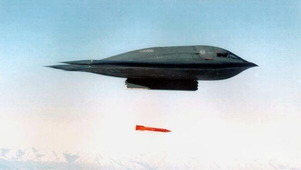 Amerykański bombowiec B-2 Spirit - Sputnik Polska
