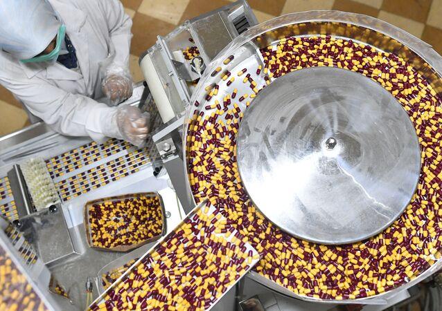 Fabryka farmaceutyczna w Damaszku