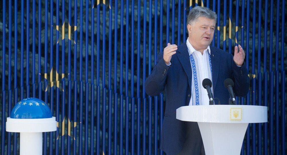Prezydent Ukrainy Petro Poroszenko rozpoczyna wsteczne odliczanie do zniesienia ruchu wizowego z UE