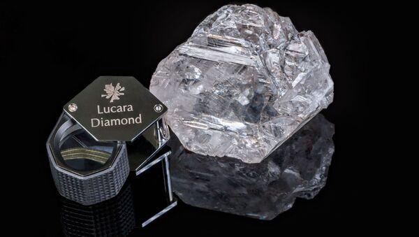 Drugi co do wielkosci diament na swiecie - Sputnik Polska