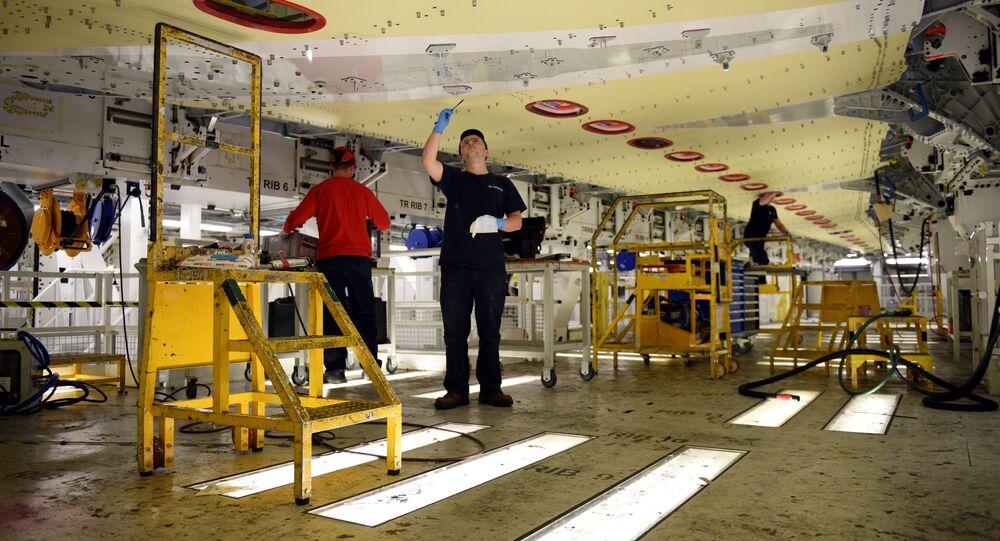 Fabryka Airbus w Walii