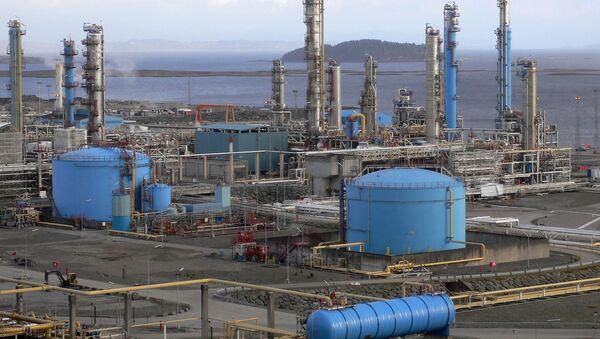 Zakład przetwórczy gazu w Norwegii - Sputnik Polska