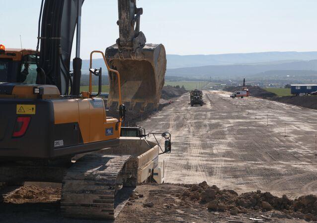 Budowa trasy Tauryda na Krymie