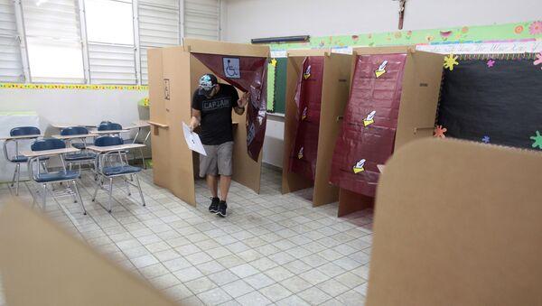 Portorykańczycy głosowali na referendum za przyłączeniem się do Stanów Zjednoczonych - Sputnik Polska