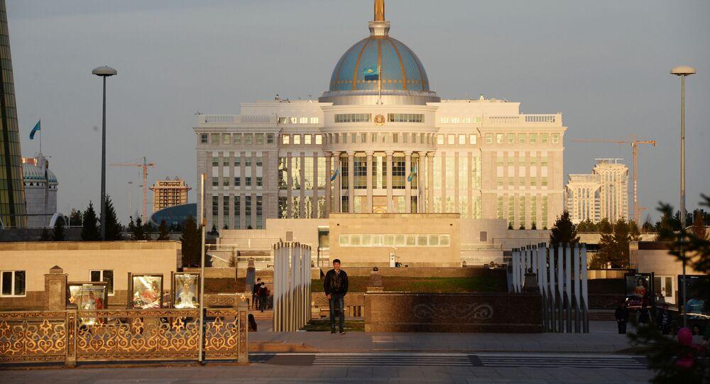 Pałac prezydencki Ak Orda w Astanie