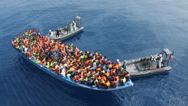 Morze Śródziemne, operacja ratunkowa - Sputnik Polska