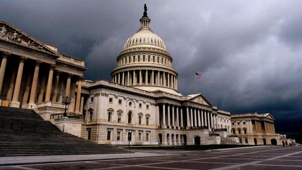 Budynek Kongresu USA w Waszyngtonie - Sputnik Polska