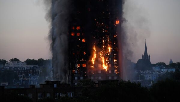 Pożar w Londynie - Sputnik Polska