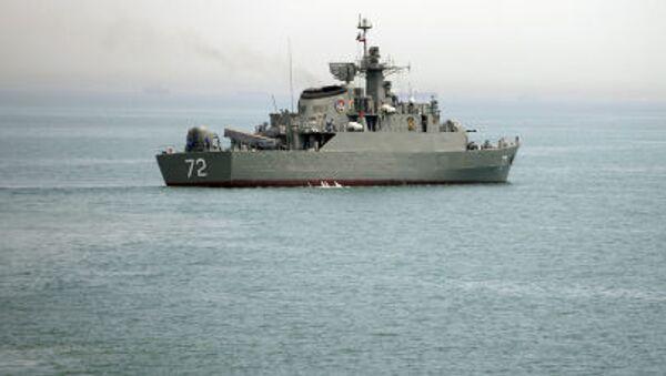 Irański okręt wojenny Alborz - Sputnik Polska