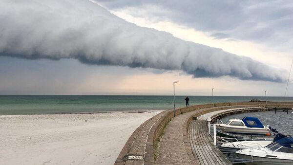 Apokaliptyczna chmura w Szwecji - Sputnik Polska