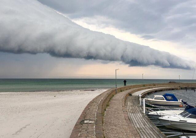 Apokaliptyczna chmura w Szwecji