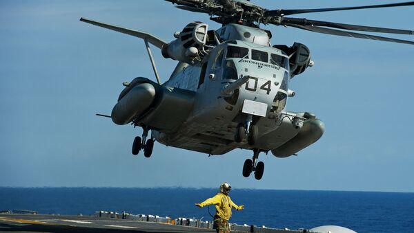 Amerykański śmigłowiec CH-53E - Sputnik Polska