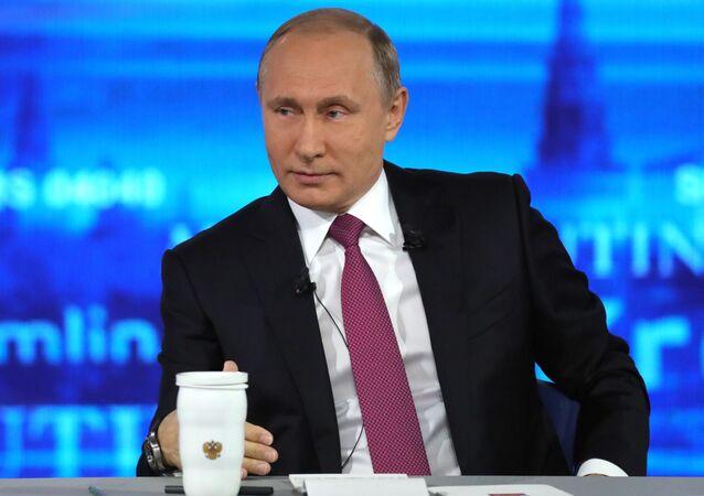 Gorąca linia z Władimirem Putinem-2017