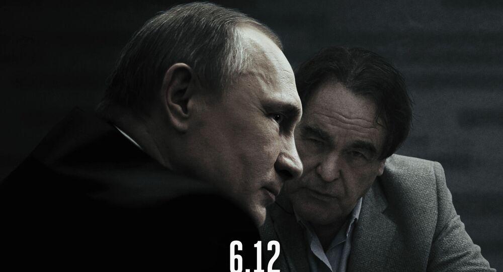 Plakat filmu Wywiad z Putinem