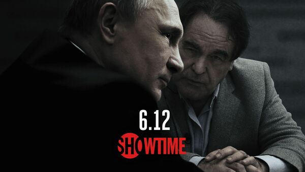 Plakat filmu Wywiad z Putinem - Sputnik Polska