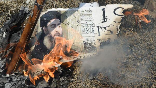Lider PI Abu Bakr al-Baghdadi - Sputnik Polska