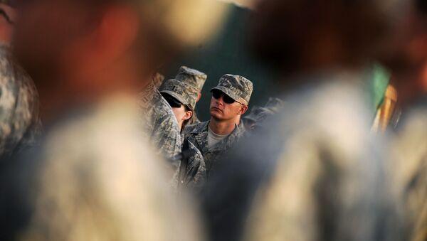 Amerykańscy wojskowi w Afganistanie - Sputnik Polska