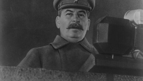 Przywódca Związku Radzieckiego Józef Stalin - Sputnik Polska