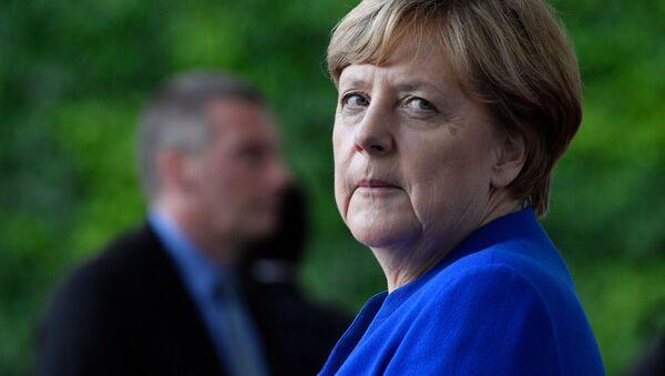 Angela Merkel, kanclerz Niemiec - Sputnik Polska