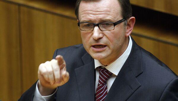 Austriacki polityk Karlheinz Kopf - Sputnik Polska