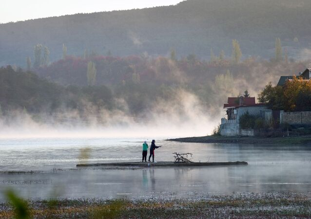 Symferopolski zbiornik wodny, Krym