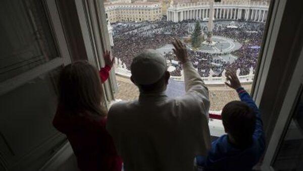 Papież Franciszek w Watykanie - Sputnik Polska