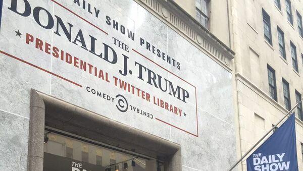 Biblioteka twitów Donalda Trumpa - Sputnik Polska