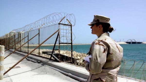 Amerykańska baza wojskowa w Bahrajnie - Sputnik Polska